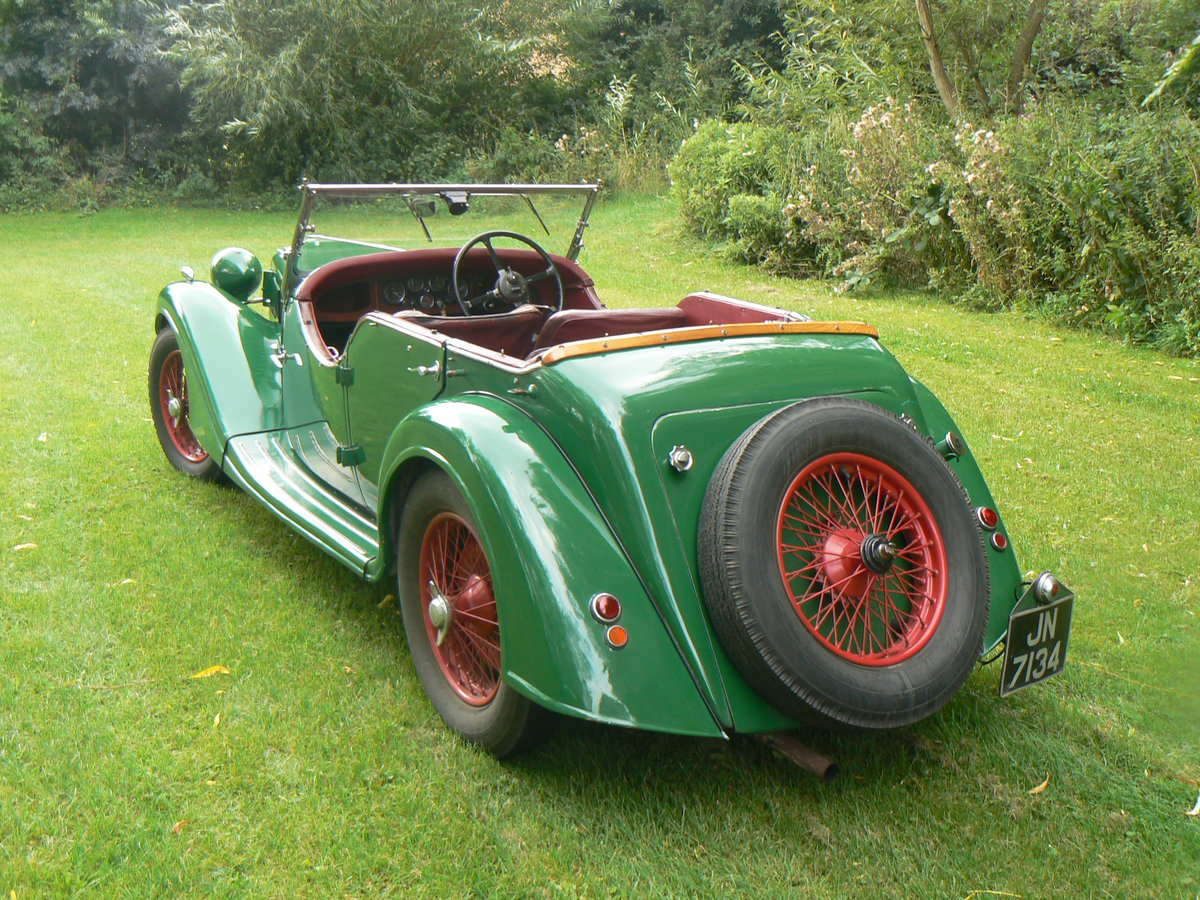 1936 Riley Lynx 12/4 For Sale (picture 1 of 6)