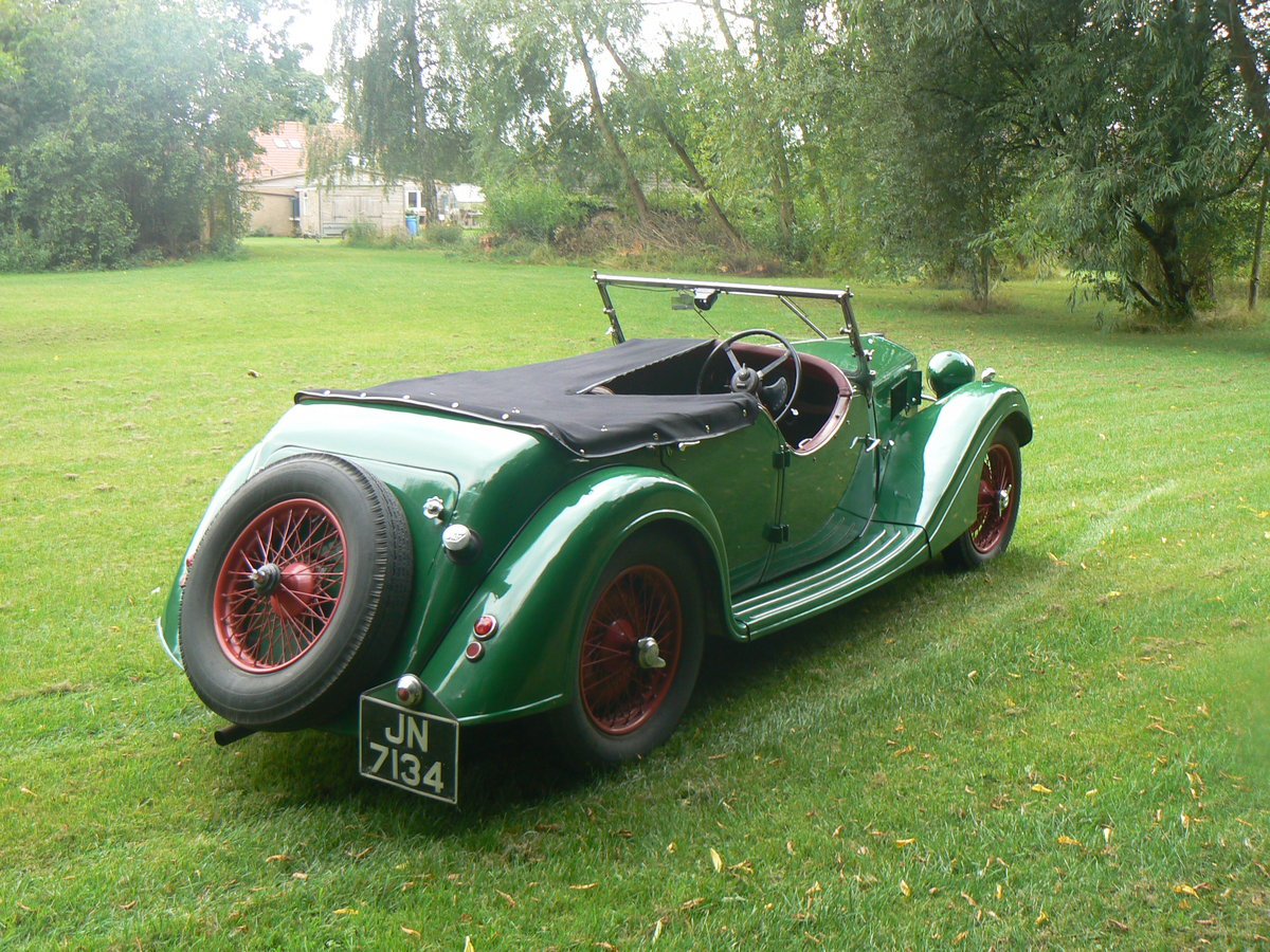 1936 Riley Lynx 12/4 For Sale (picture 3 of 6)