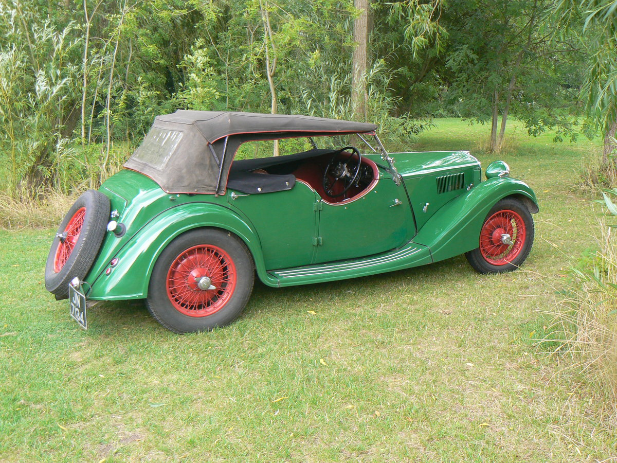 1936 Riley Lynx 12/4 For Sale (picture 5 of 6)
