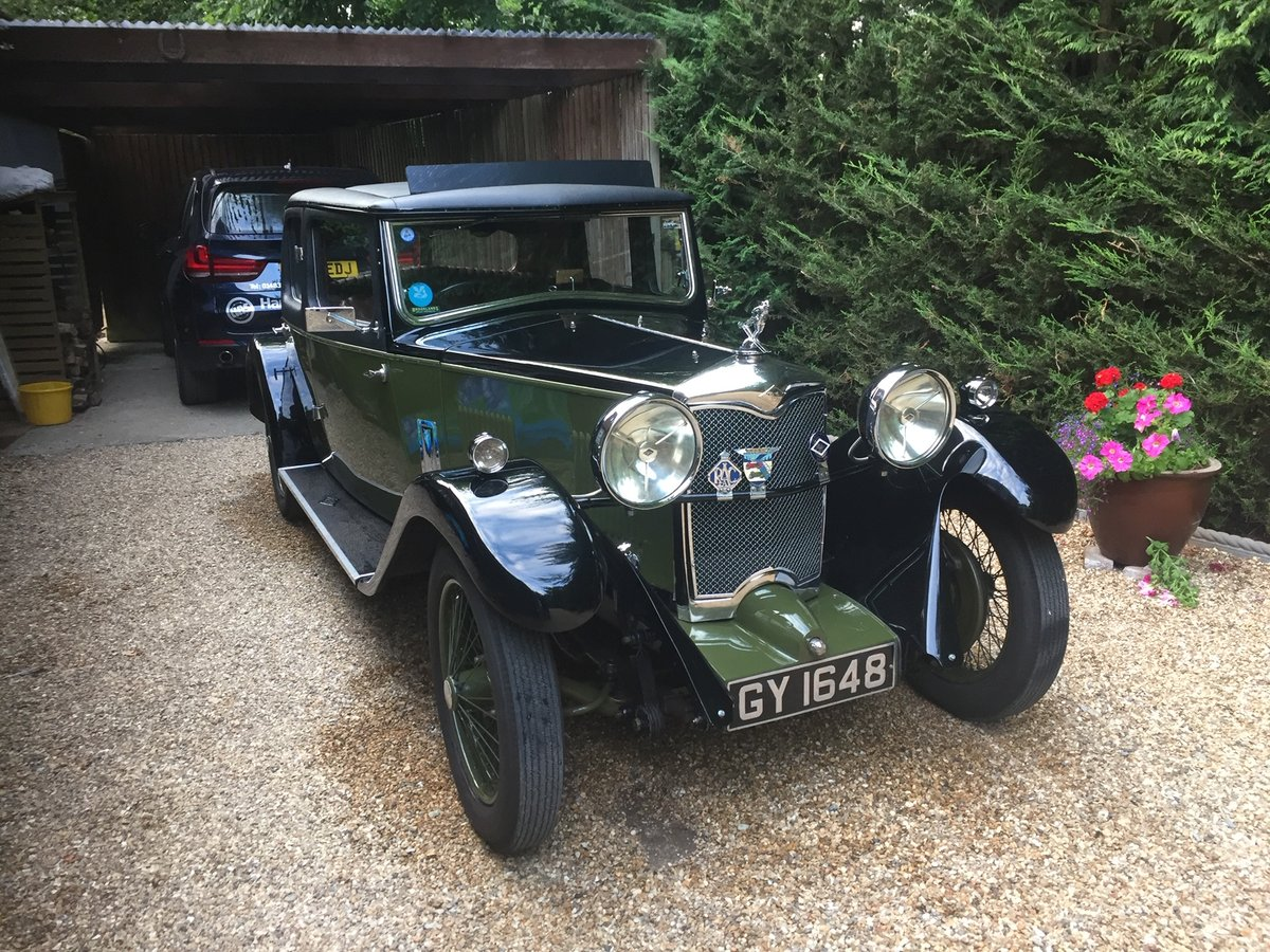 1932 Riley Stelvio for sale SOLD (picture 1 of 6)