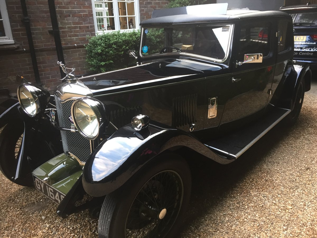 1932 Riley Stelvio for sale SOLD (picture 2 of 6)