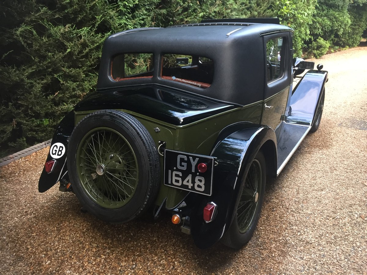 1932 Riley Stelvio for sale SOLD (picture 4 of 6)