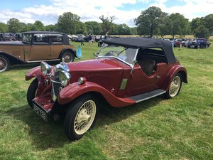 1933 Riley Nine Lynx – (disappearing hood model) For Sale