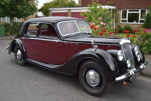 1947 Riley RMA, early example, reluctant sale