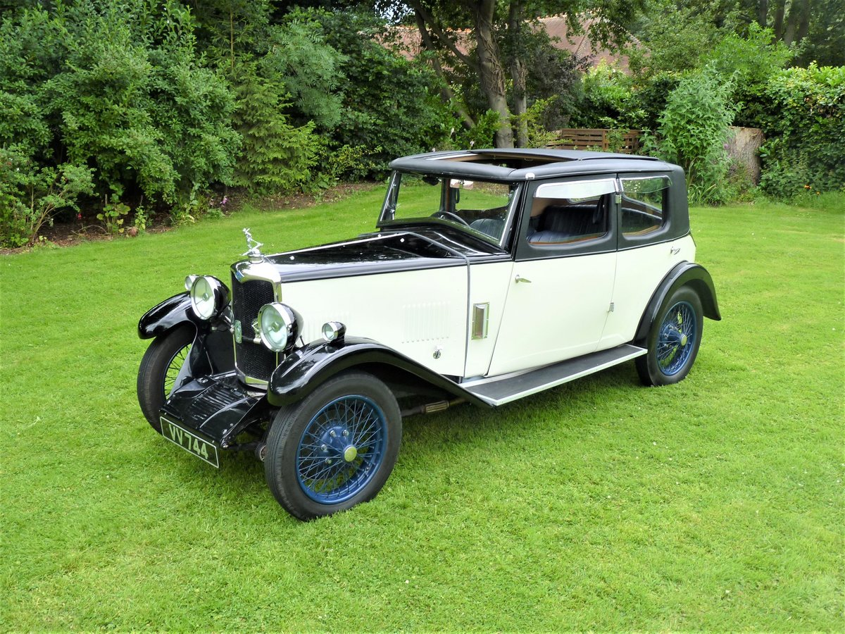 1931 Riley Alpine 14/6 Saloon For Sale (picture 4 of 6)