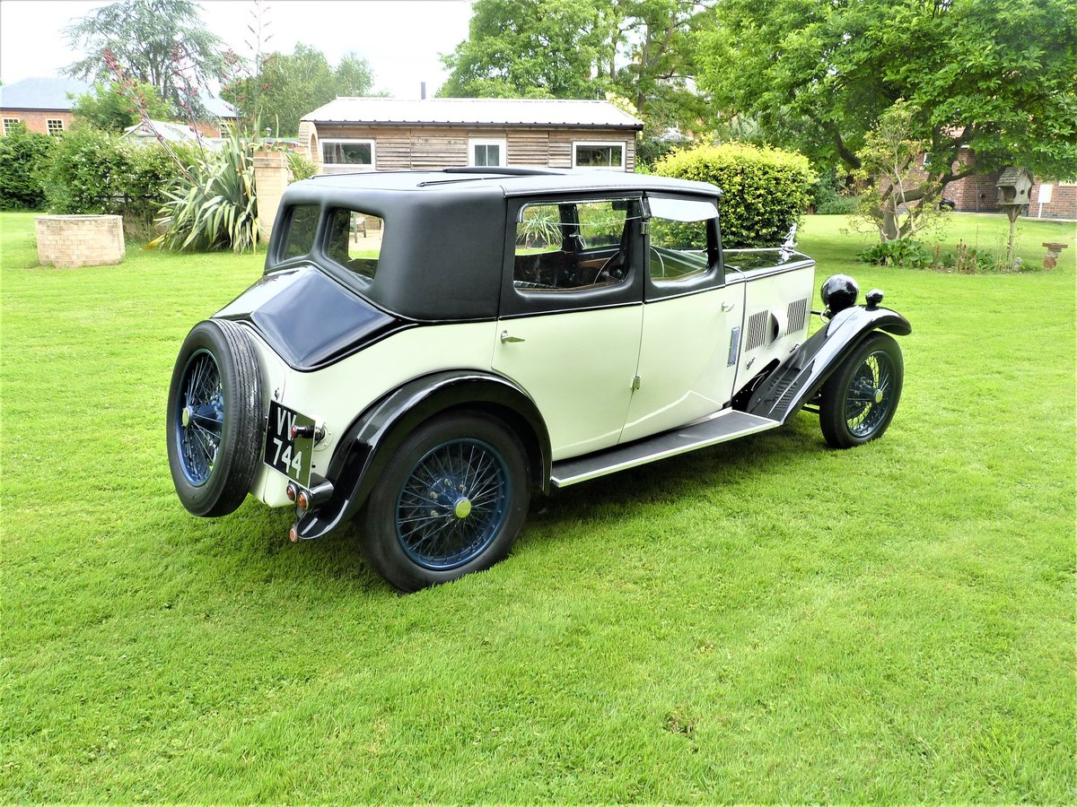 1931 Riley Alpine 14/6 Saloon For Sale (picture 5 of 6)