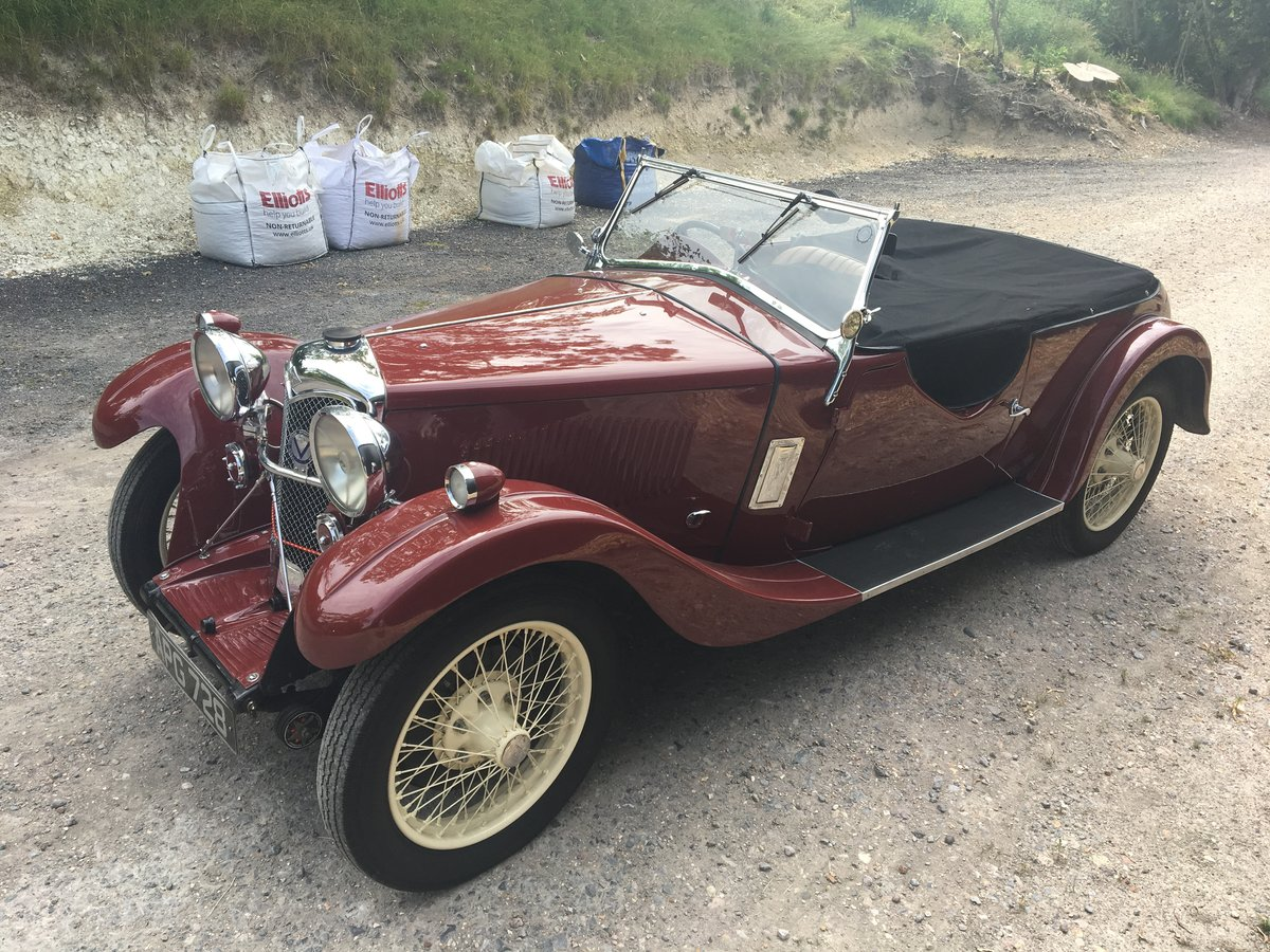 1933 Riley Nine Lynx – (disappearing hood model) SOLD (picture 4 of 6)