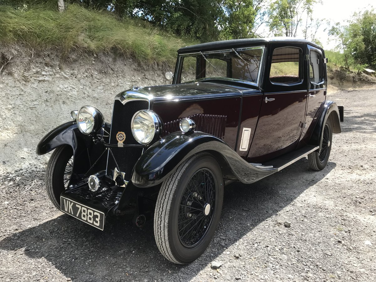 1932 Riley Monaco - excellent example SOLD (picture 1 of 6)