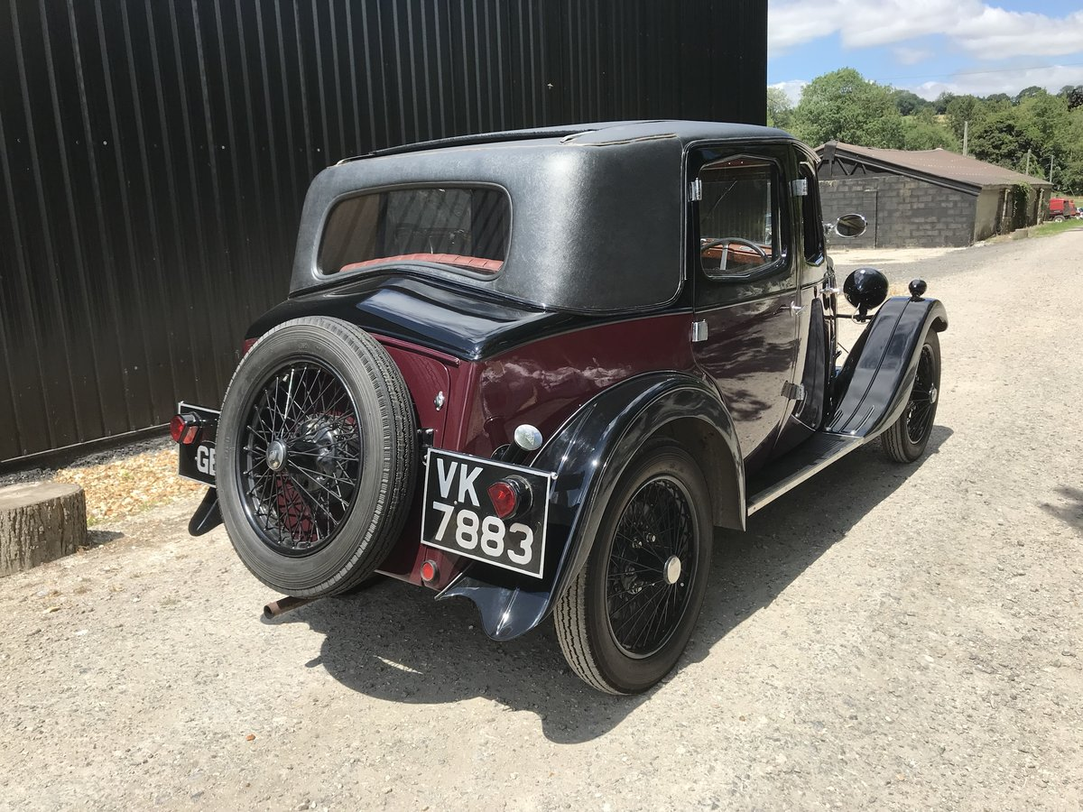 1932 Riley Monaco - excellent example SOLD (picture 2 of 6)