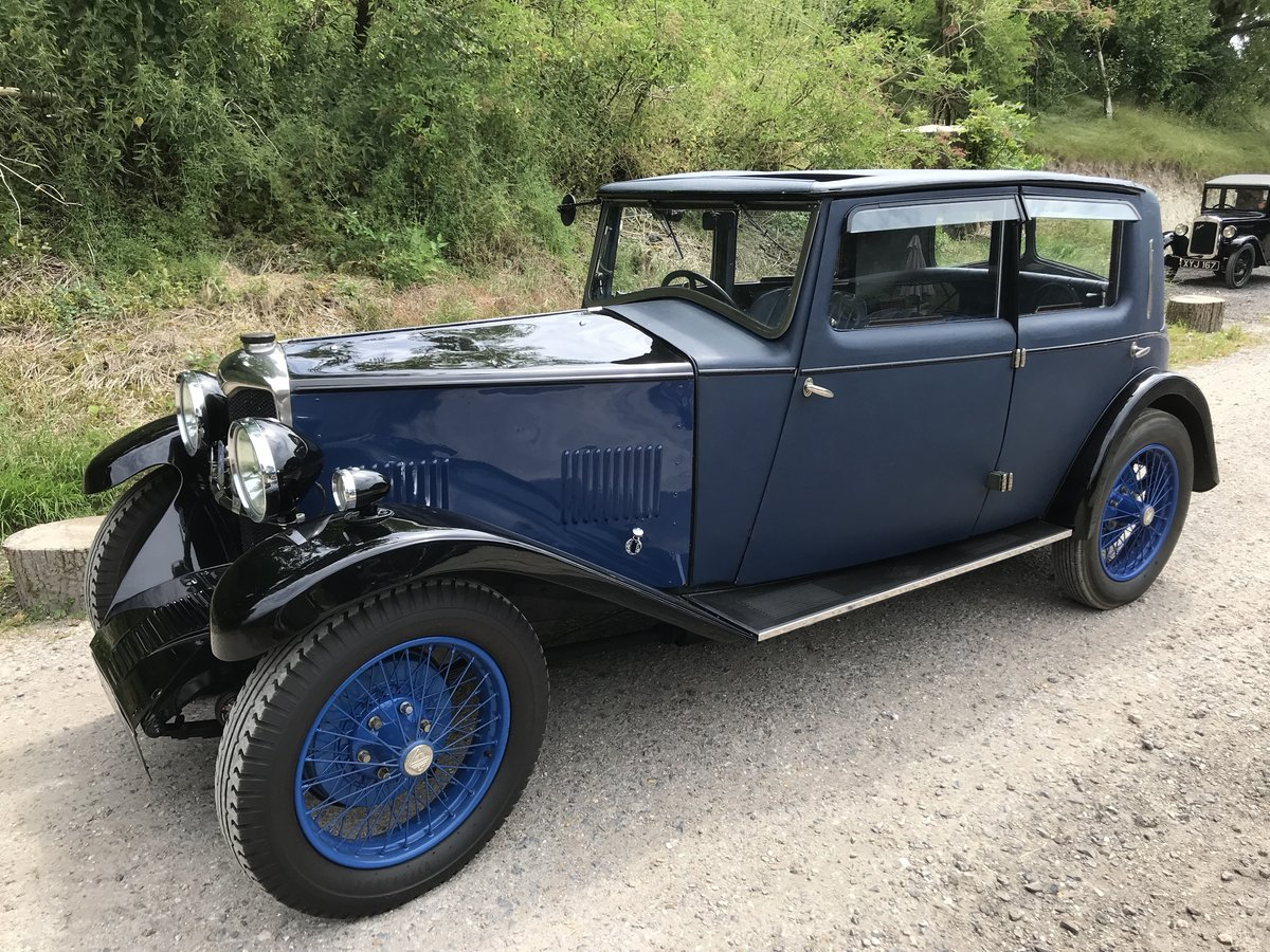 1931 Riley Alpine 14/6 Fabric Saloon- New Price! For Sale (picture 1 of 6)
