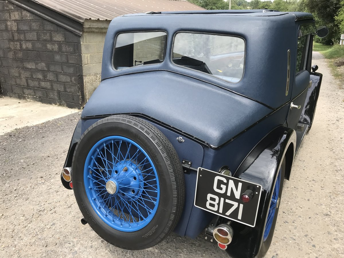1931 Riley Alpine 14/6 Fabric Saloon- New Price! For Sale (picture 2 of 6)