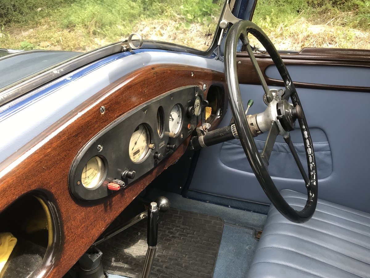 1931 Riley Alpine 14/6 Fabric Saloon- New Price! For Sale (picture 4 of 6)