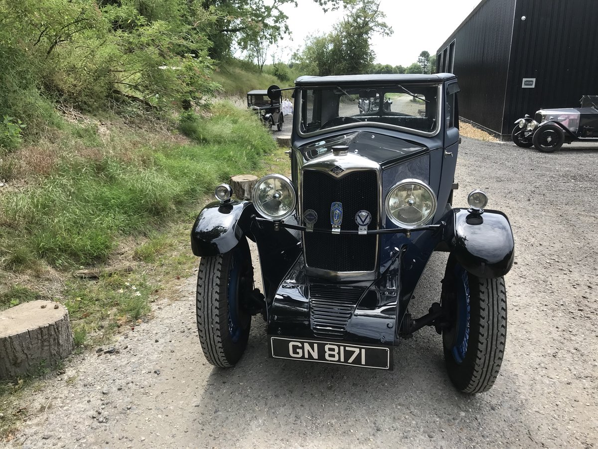 1931 Riley Alpine 14/6 Fabric Saloon- New Price! For Sale (picture 6 of 6)