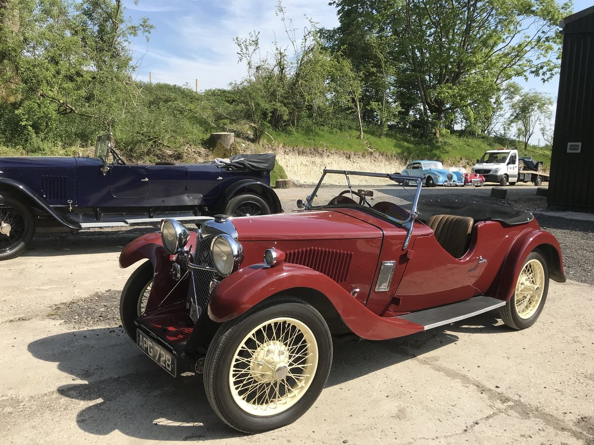 1933 Riley Nine Lynx – (disappearing hood model) SOLD (picture 6 of 6)