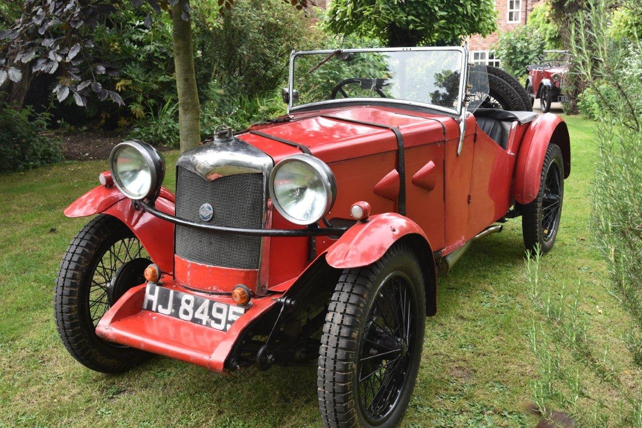 1929 Vintage Riley Nine Special For Sale (picture 1 of 6)