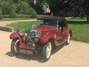 1933 Riley Nine Lynx – (disappearing hood model) SOLD