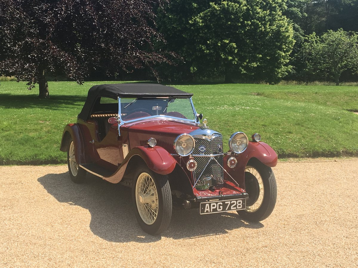 1933 Riley Nine Lynx – (disappearing hood model) SOLD (picture 5 of 6)