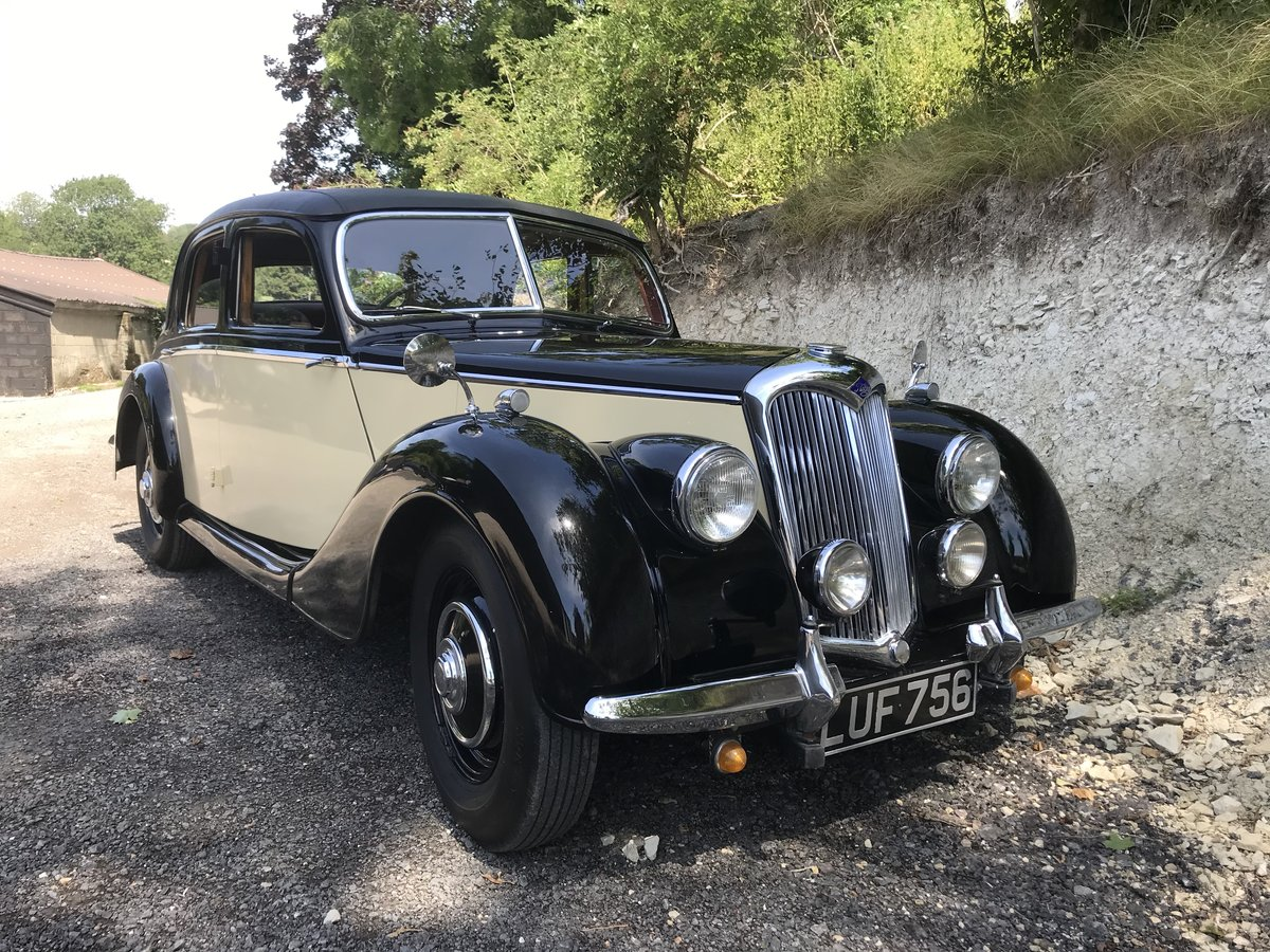 1952 Riley RMA in current ownership almost 30 years SOLD (picture 1 of 6)