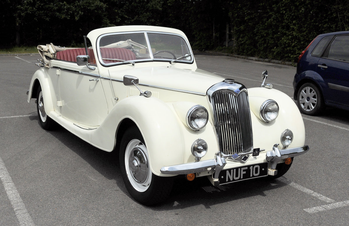 1950 Rare Opportunity - Riley RMD Left Hand Drive For Sale (picture 1 of 6)