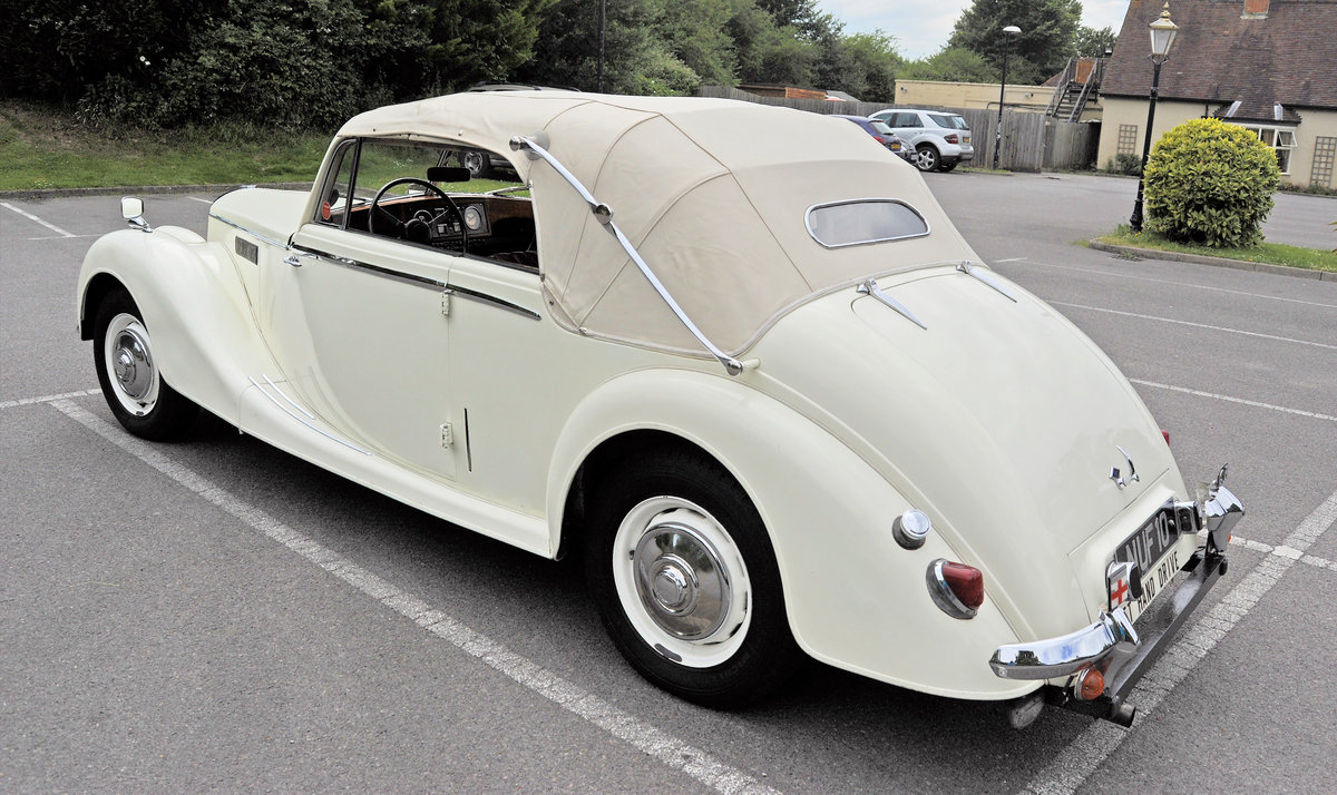 1950 Rare Opportunity - Riley RMD Left Hand Drive For Sale (picture 3 of 6)
