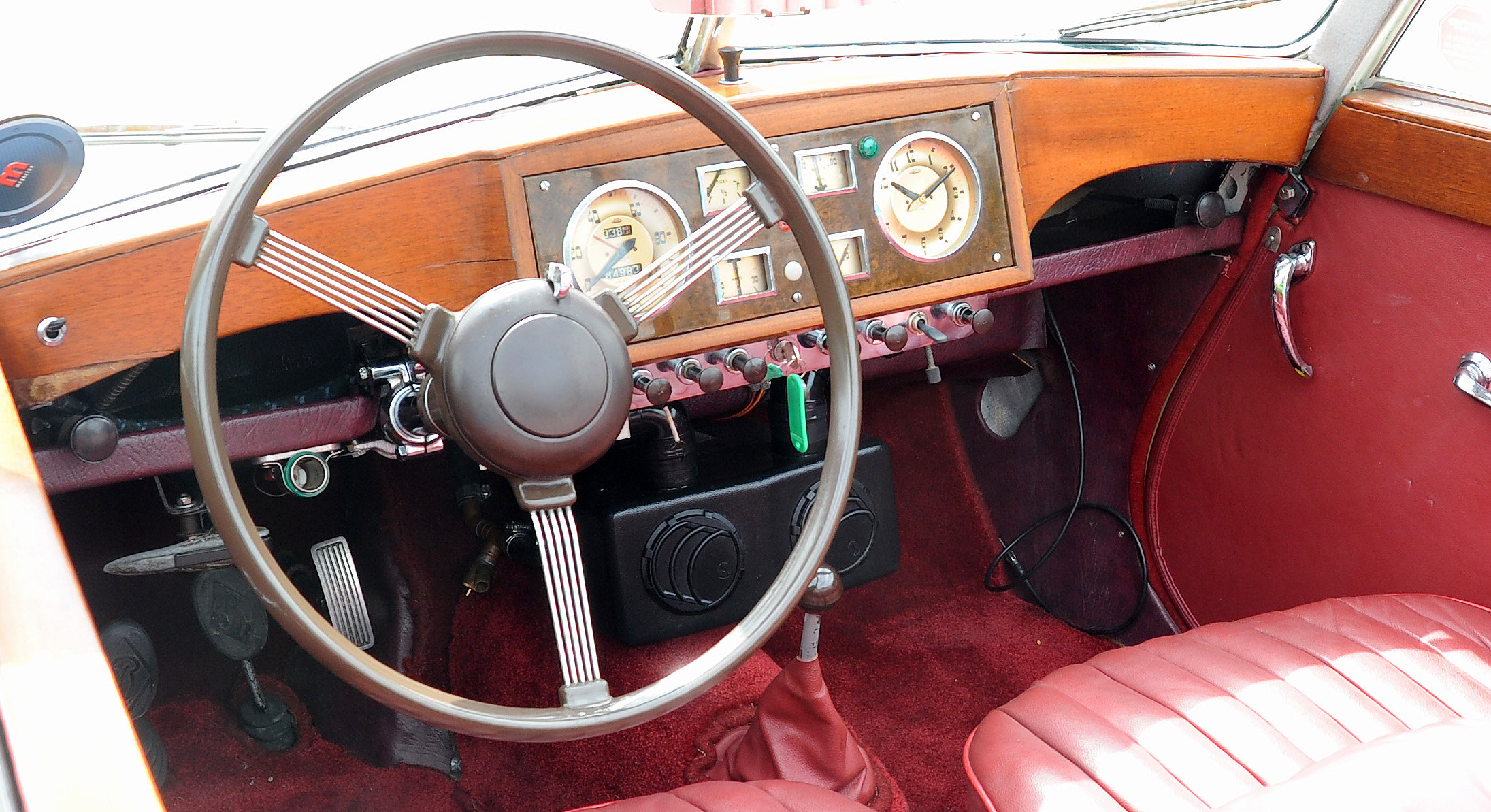 1950 Rare Opportunity - Riley RMD Left Hand Drive For Sale (picture 5 of 6)