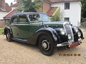 1948 Riley Rma 1.5 Litre Sports Saloon SOLD