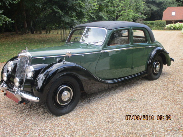 1948 Riley Rma 1.5 Litre Sports Saloon SOLD (picture 2 of 6)