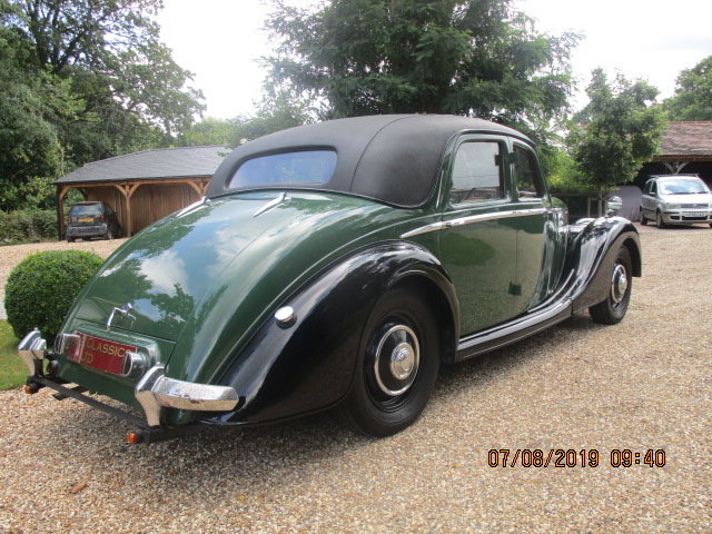 1948 Riley Rma 1.5 Litre Sports Saloon SOLD (picture 4 of 6)