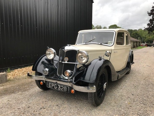 1936 Riley Adelphi - present owner 55 years For Sale (picture 1 of 6)