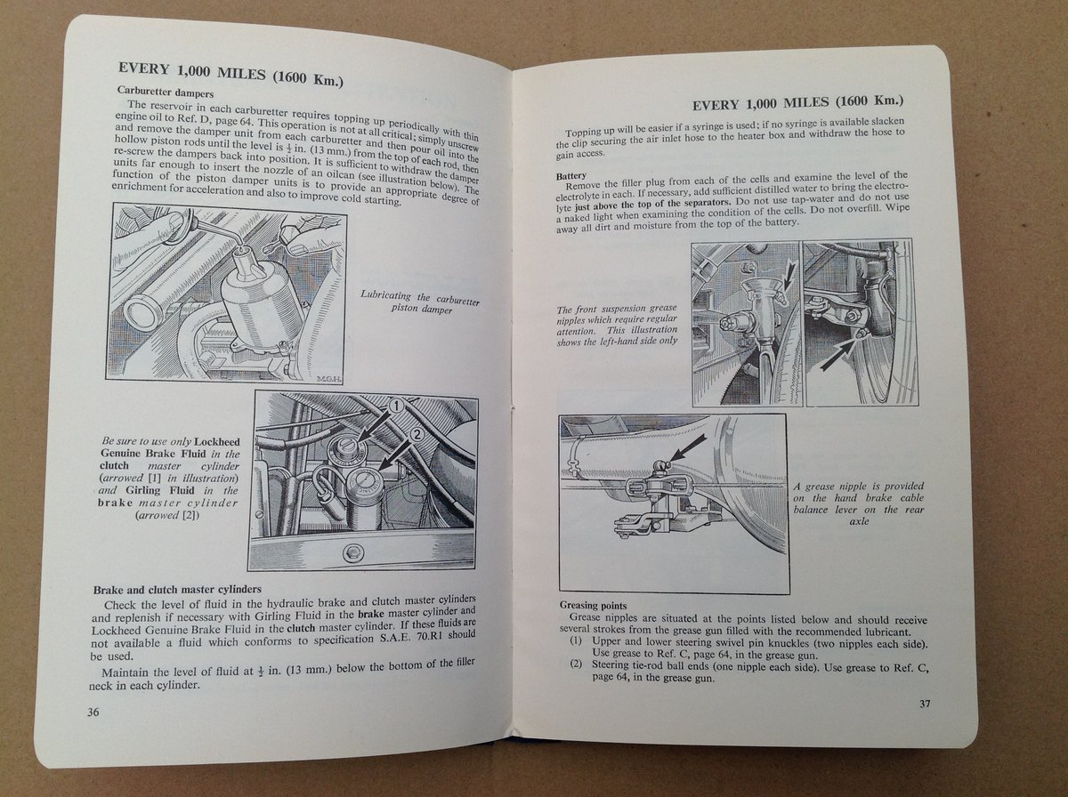 Riley One-Point-Five Handbook For Sale (picture 2 of 4)