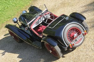 1935 Riley 12/4 Sports Special Zagato style For Sale