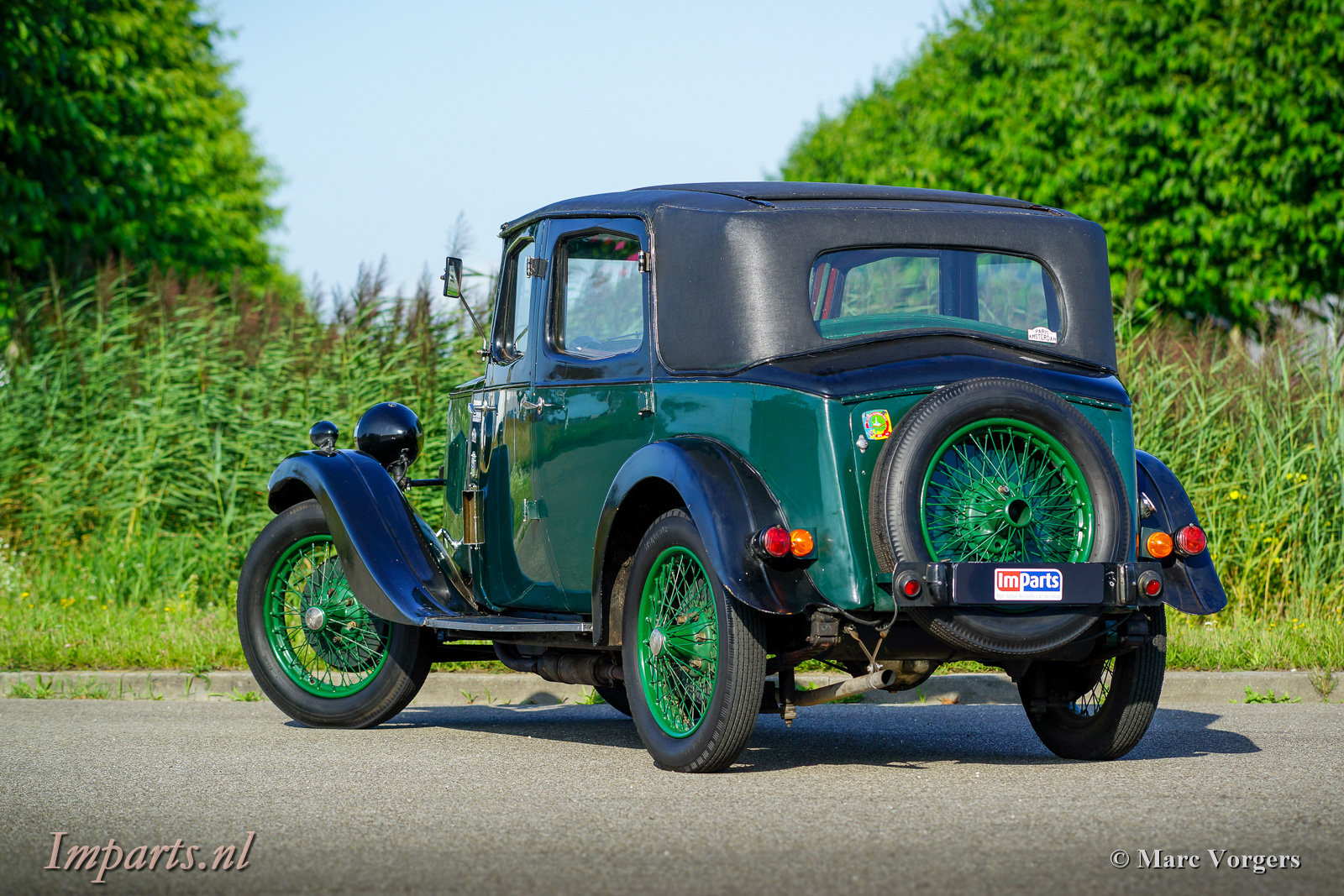 Very nice original Riley Nine Monaco 1933 For Sale (picture 5 of 6)