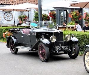 Vintage 1929 Riley 9 Special with a Tourer Body For Sale