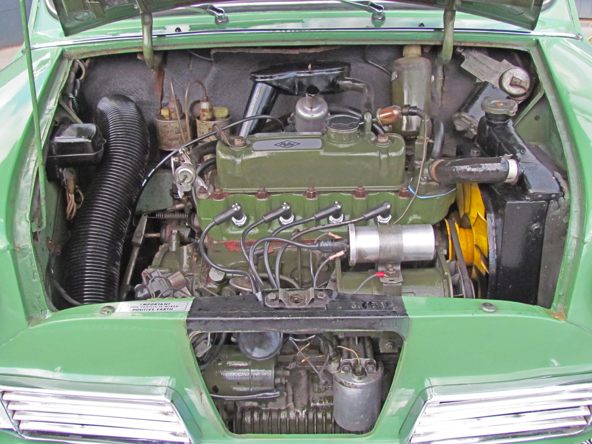 1968 Riley Elf Mk3 998cc Mini Cooper based engine 11k