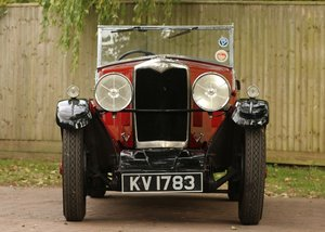1932 Riley Alpine Tourer SOLD by Auction