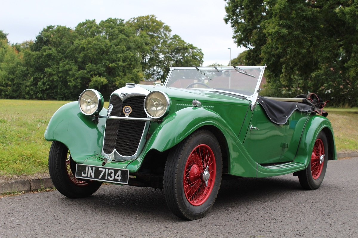 Riley 12/4 Lynx 1936 - To be auctioned 25-10-19 For Sale by Auction (picture 1 of 6)