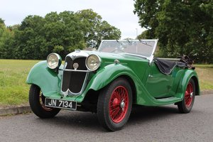 Riley 12/4 Lynx 1936 - To be auctioned 25-10-19