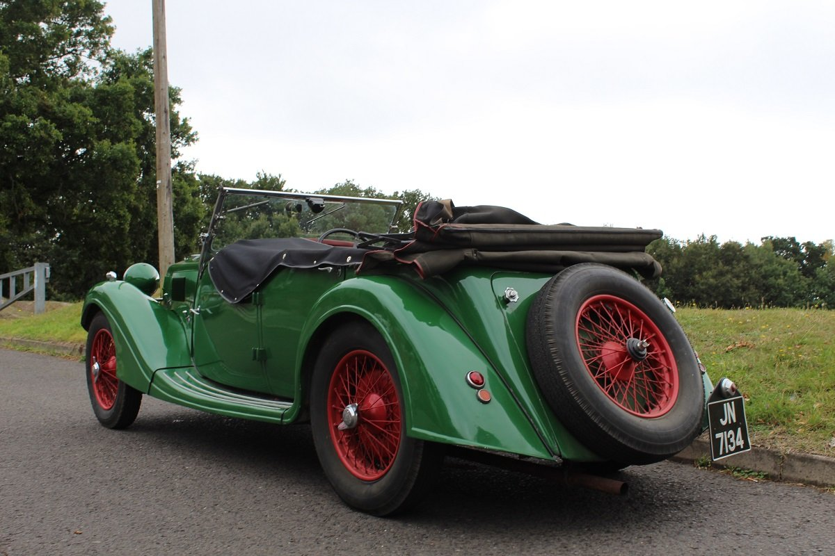 Riley 12/4 Lynx 1936 - To be auctioned 25-10-19 For Sale by Auction (picture 2 of 6)