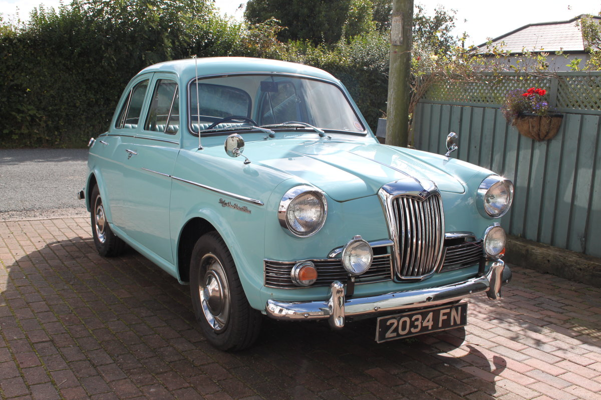 1962 Riley 1.5 Mk 3 SOLD (picture 1 of 6)