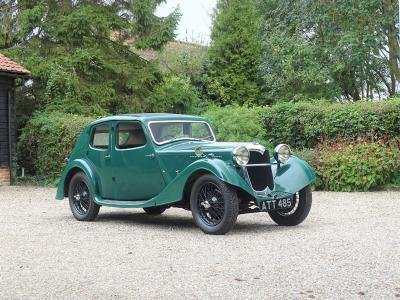 1935 Riley 12/4 Kestrel For Sale by Auction (picture 1 of 6)
