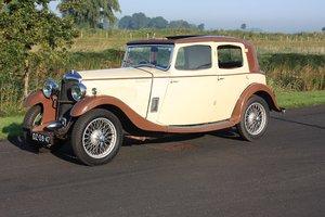 Riley 12/6 Mentone 1934 6 Cyl engine !