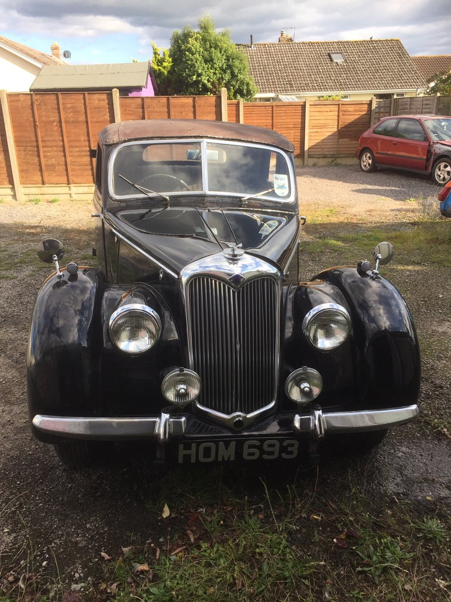 1948 Riley RMA Black with Maroon Roof SOLD (picture 1 of 6)
