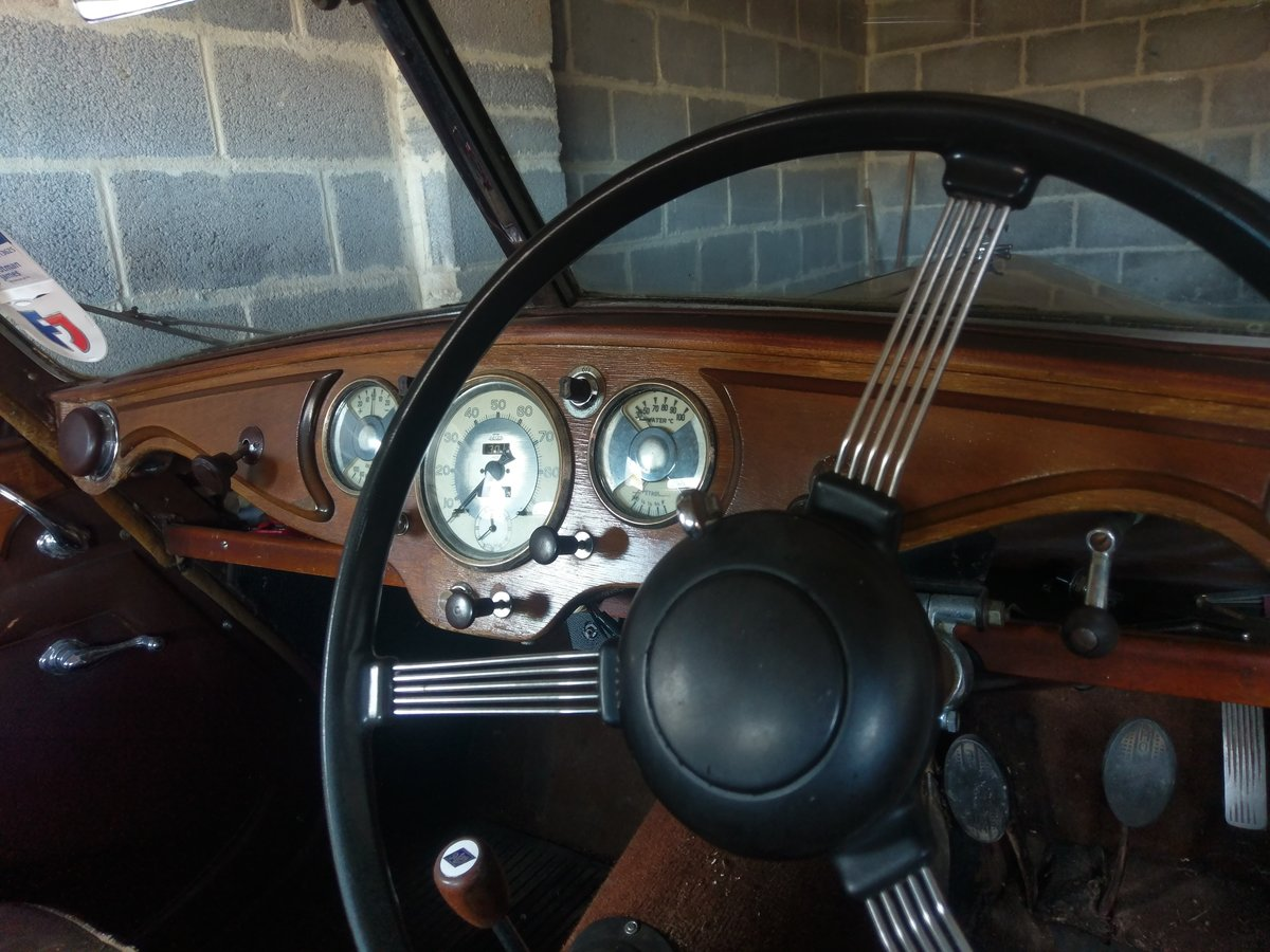 1948 Riley RMA Black with Maroon Roof SOLD (picture 6 of 6)