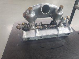 1935 Riley SU Carburators