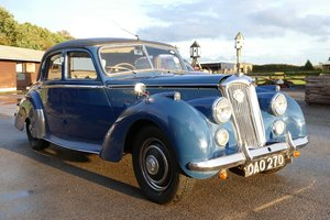 1954 Riley RME, 1496 cc. For Sale by Auction