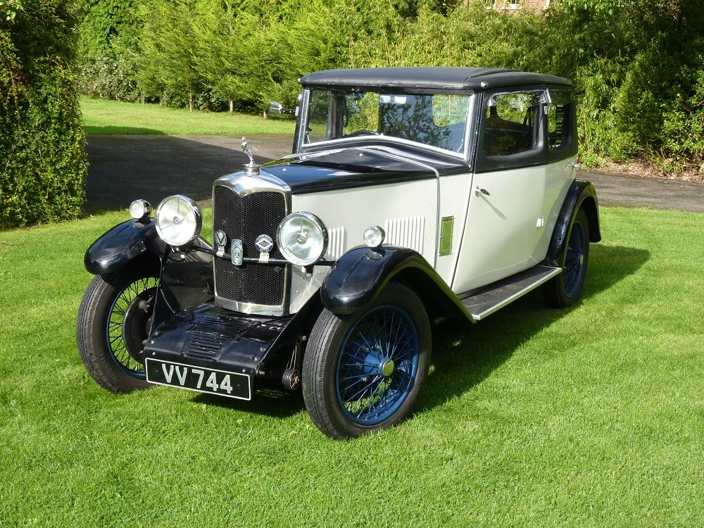 1931 Riley 14/6 Alpine - restored SOLD (picture 1 of 6)