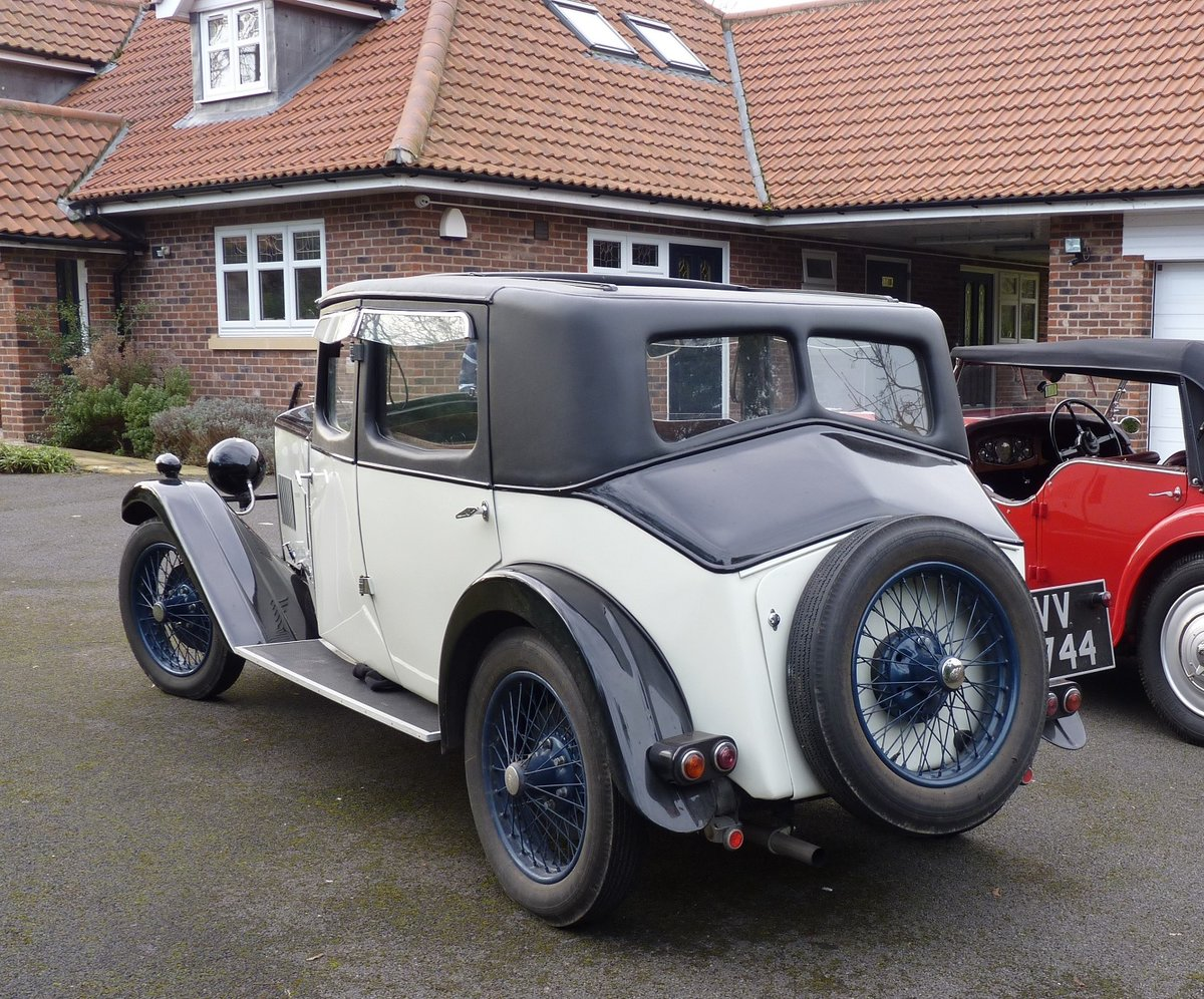 1931 Riley 14/6 Alpine - restored SOLD (picture 4 of 6)