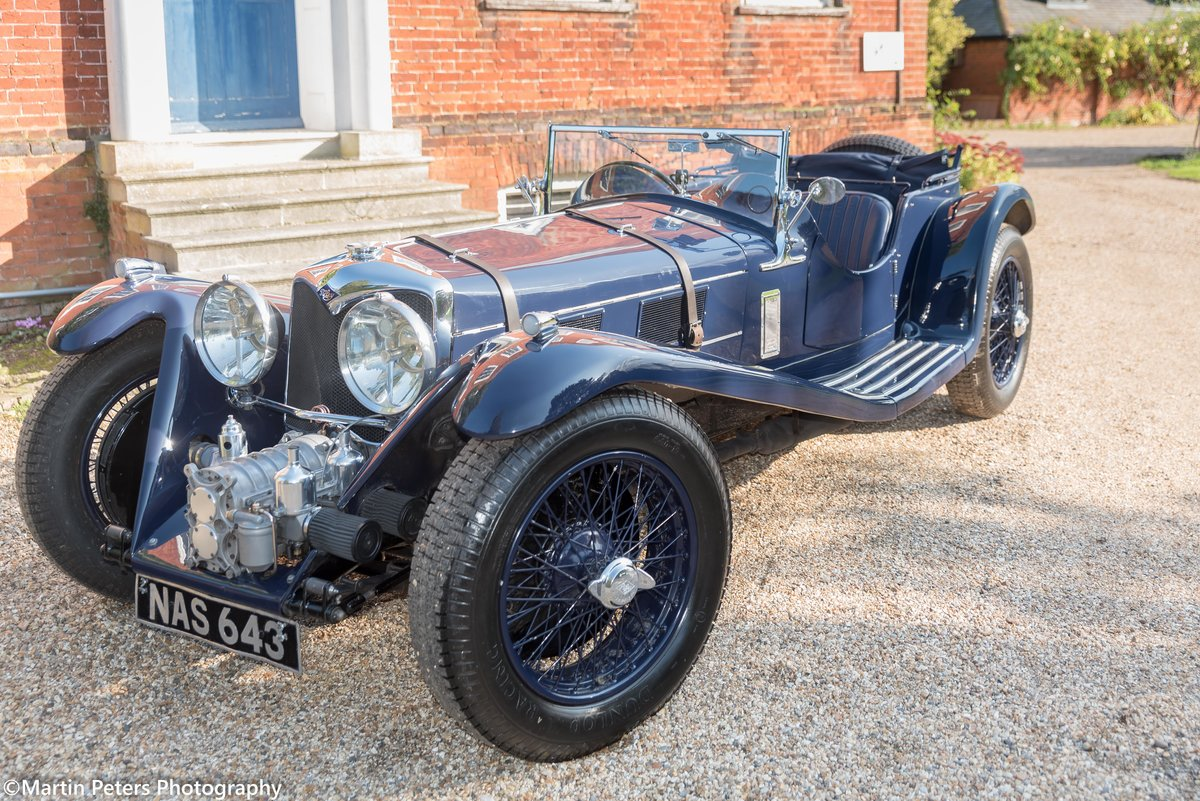 Riley 2.5 Supercharged Blue streak 1938 For Sale (picture 1 of 24)