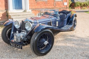 Riley 2.5 Supercharged Blue streak 1938