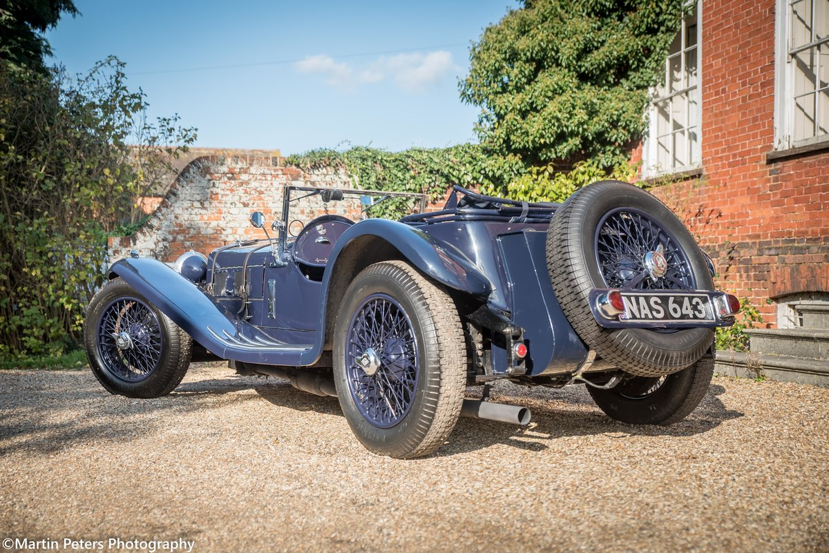 Riley 2.5 Supercharged Blue streak 1938 For Sale (picture 3 of 24)